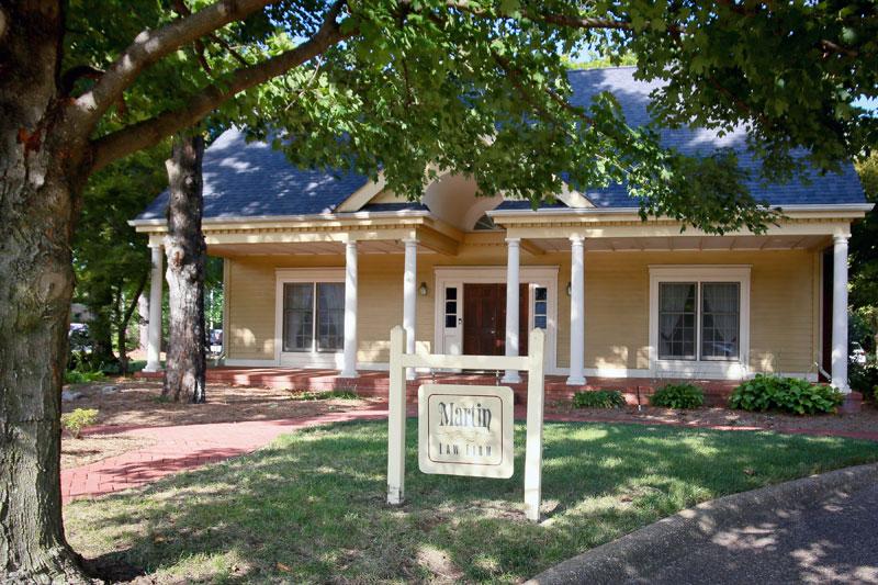 Martin Law Firm Fayetteville Arkansas Office